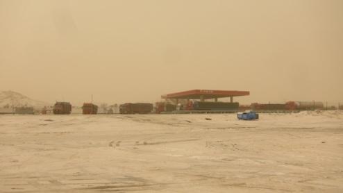 grim scenery, Xinjiang