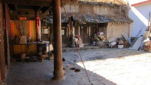 traditional Bai courtyard