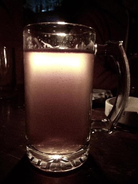 the devil in a mug of beer