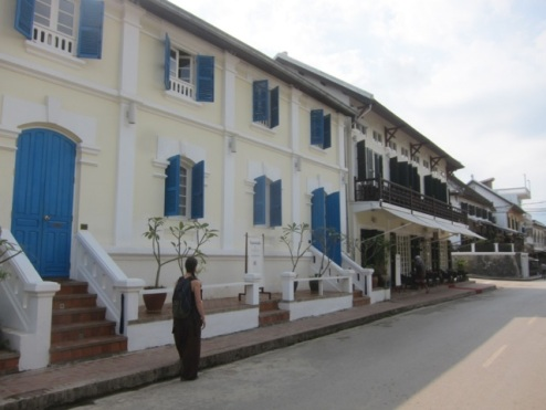 French colonial style, Luang Prabang