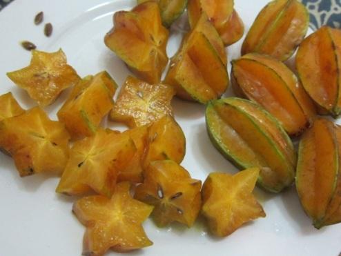 zesty carambola, star fruit