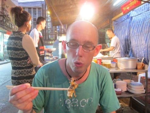 blow! It's hot!