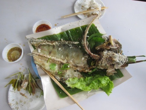 the 'fishy' remains